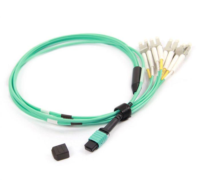 MPOF4LC-OM4-2M-12 OM4 PlusOptic Multimode Fibre Cable