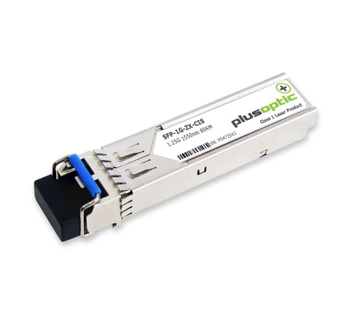 15454-SFP-LC-ZX Cisco 1.25G SMF 80KM Transceiver