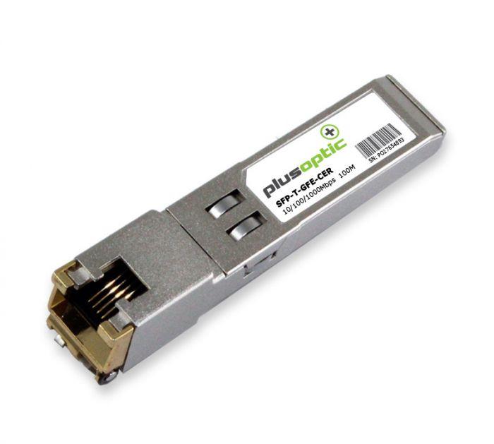 SFP-T-GFE-CER Ceragon Networks 10/100/1000Mbps Copper 100M Transceiver
