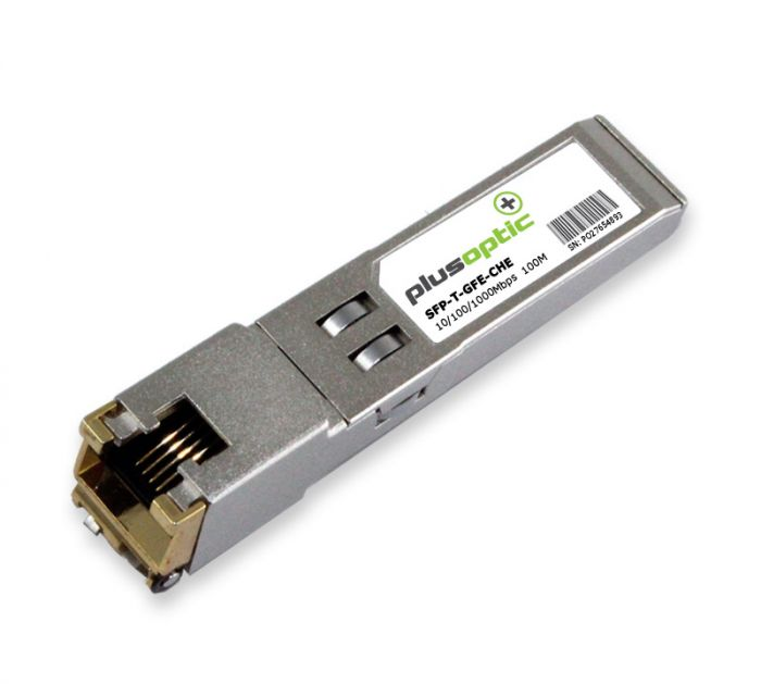 SFP-T-GFE-CHE Check Point 10/100/1000Mbps Copper 100M Transceiver