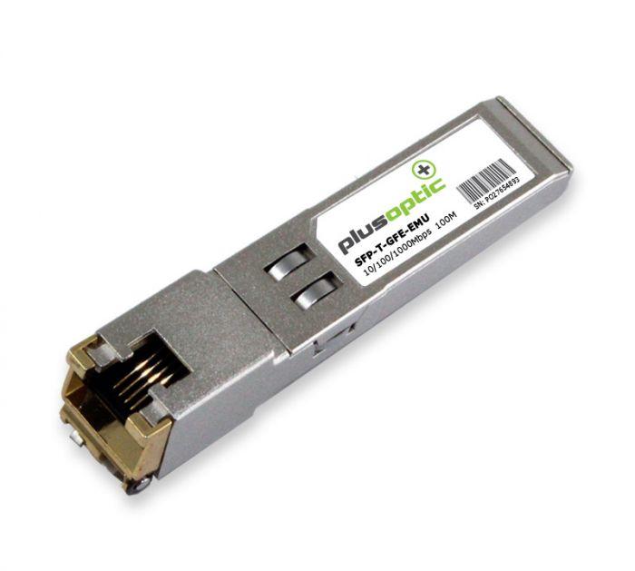 SFP-T-GFE-EMU Emulux 10/100/1000Mbps Copper 100M Transceiver