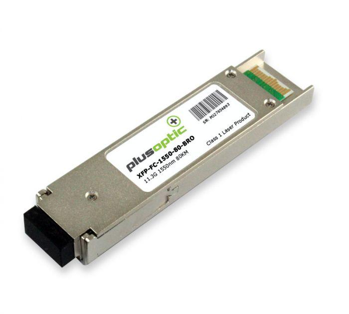 XFP-FC-1550-80-BRO Brocade 11.3G SMF 80KM Transceiver