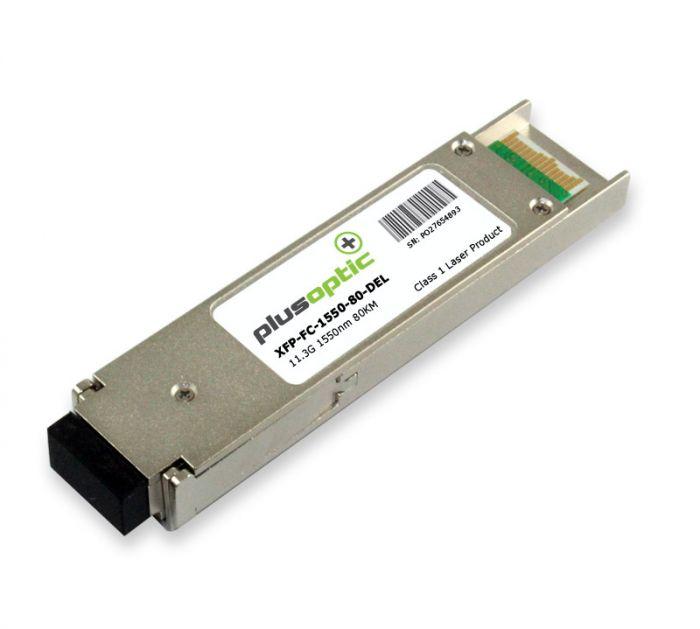 XFP-FC-1550-80-DEL Dell 11.3G SMF 80KM Transceiver
