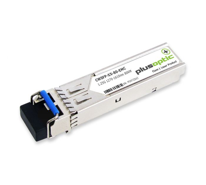 CWSFP-XX-80-EMC EMC 1.25G SMF 80KM Transceiver