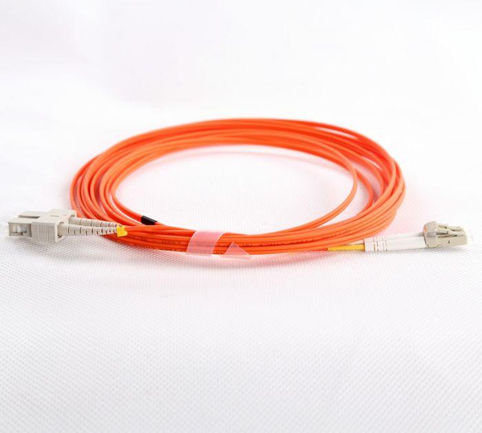 LC-SC-OM1-0.5M-DX OM1 PlusOptic Multimode Fibre Cable