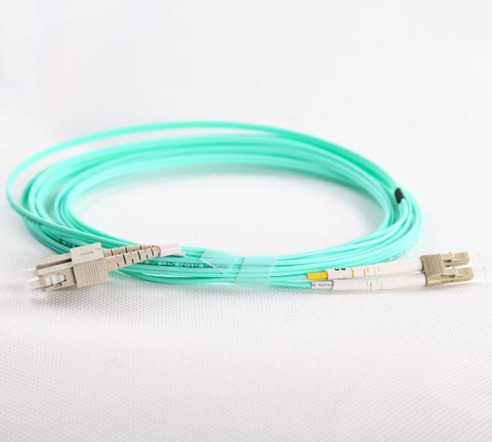 LC-SC-OM4-1M-DX OM4 PlusOptic Multimode Fibre Cable