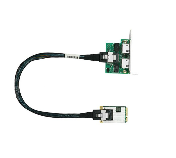 NIC-MINI-PCIE-2RJ45-PLU Intel Ethernet NIC Card
