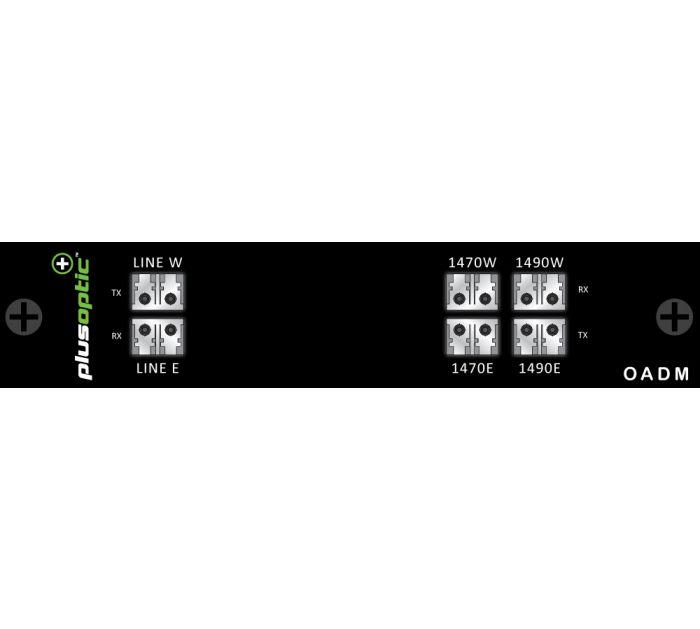 OADM-CWDM-EW-2CH PlusOptic Dual Core Multiplexer