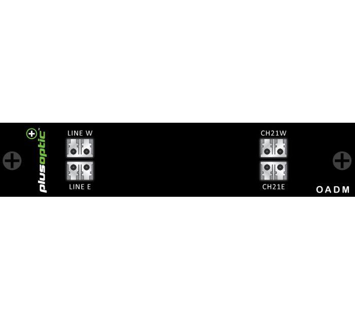 OADM-DWDM-EW-1CH PlusOptic Dual Core Multiplexer