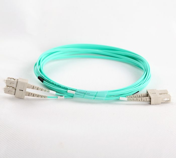 SC-SC-OM3-0.5M-DX OM3 PlusOptic Multimode Fibre Cable