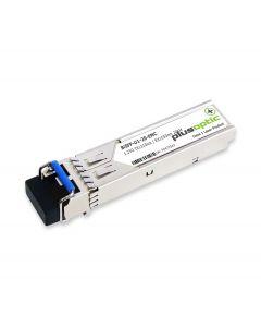 Plusoptic EMC compatible BiSFP-U1-20-EMC. EMC compatible BiDi SFP 366 20KM. BiSFP-U1-20-EMC