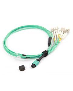 MPOF4LC-OM4-15M-12 OM4 PlusOptic Multimode Fibre Cable
