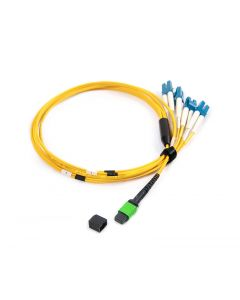 MPOF4LC-OS2-15M-12 OS2 PlusOptic Singlemode Fibre Cable