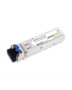 Plusoptic Juniper compatible CWSFPFC4-XX-20-JUN. Juniper compatible CWDM Fibre Channel SFP 377 20KM. CWSFPFC4-XX-20-JUN
