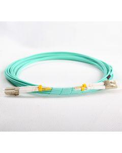 LC-LC-OM3-0.5M-DX OM3 PlusOptic Multimode Fibre Cable