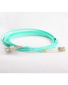 LC-SC-OM4-0.5M-DX OM4 PlusOptic Multimode Fibre Cable