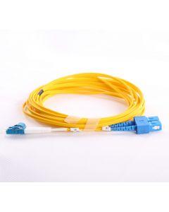 LC-SC-OS1-0.5M-DX OS1 PlusOptic Singlemode Fibre Cable