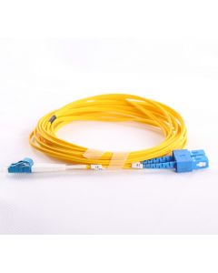 LC-SC-OS1-25M-DX OS1 PlusOptic Singlemode Fibre Cable
