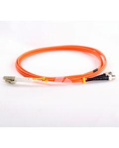 LC-ST-OM1-0.5M-DX OM1 PlusOptic Multimode Fibre Cable
