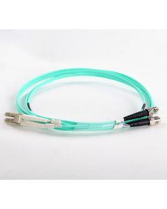 LC-ST-OM3-50M-DX OM3 PlusOptic Multimode Fibre Cable