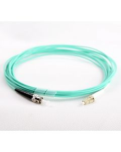 LC-ST-OM4-0.5M-SX OM4 PlusOptic Multimode Fibre Cable