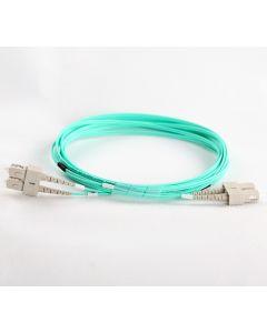 SC-SC-OM4-0.5M-DX OM4 PlusOptic Multimode Fibre Cable