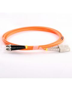 SC-ST-OM1-15M-DX OM1 PlusOptic Multimode Fibre Cable