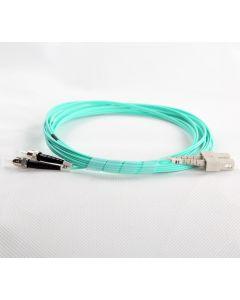 SC-ST-OM3-1M-DX OM3 PlusOptic Multimode Fibre Cable